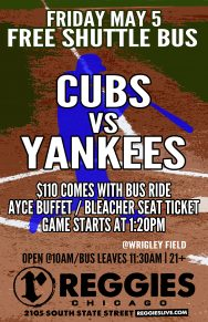 Cubs vs Yankees at Wrigley Ticket Package