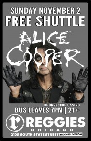 SHUTTLE TO ALICE COOPER