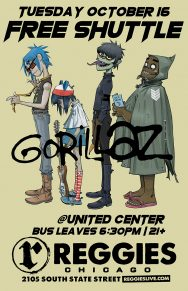 SHUTTLE TO GORILLAZ