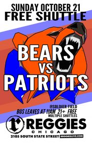 Chicago Bears vs New England Patriots