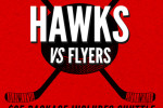 Blackhawks vs Flyers Reggies Outing