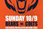 Bears vs Colts Road Trip