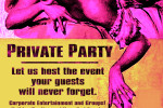 PRIVATE EVENT PARTY