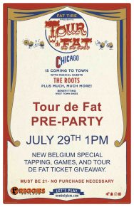 New Belgium X Reggies Tour de Fat Roof Top Pre Party