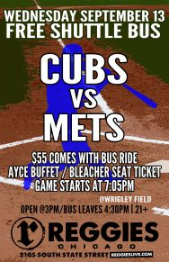 Cubs vs Mets at Wrigley Ticket Package