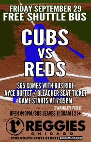 Cubs vs Reds at Wrigley Ticket Package