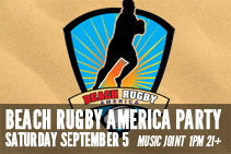 Beach American Rugby