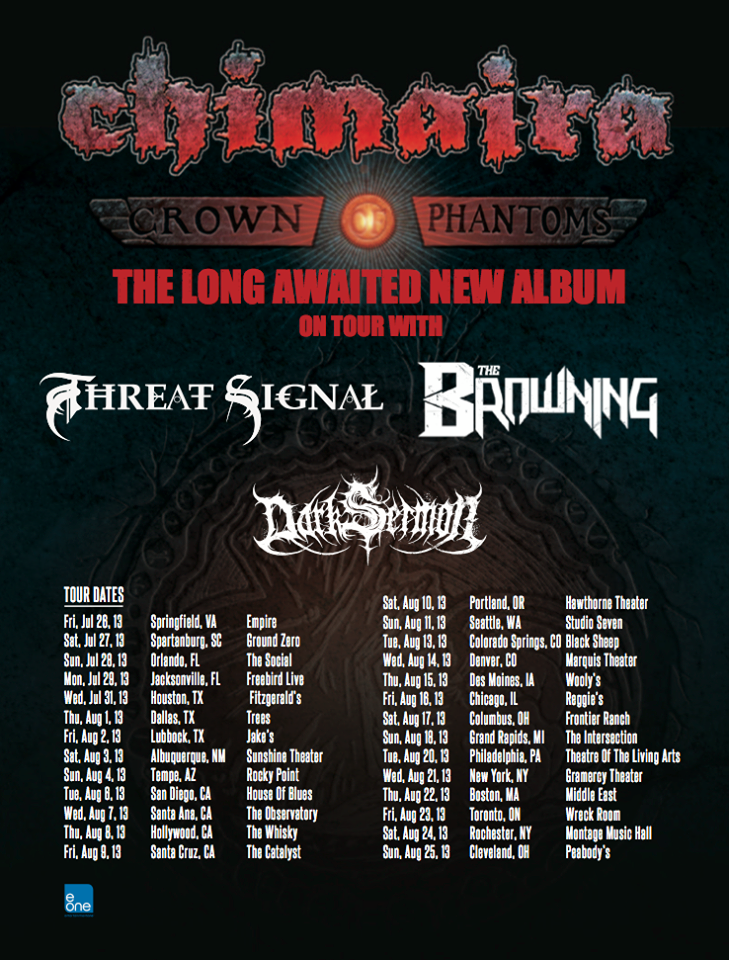 chimaira flyer
