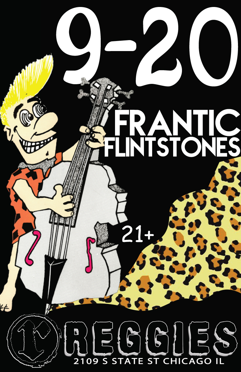 frantic flintstones flyer